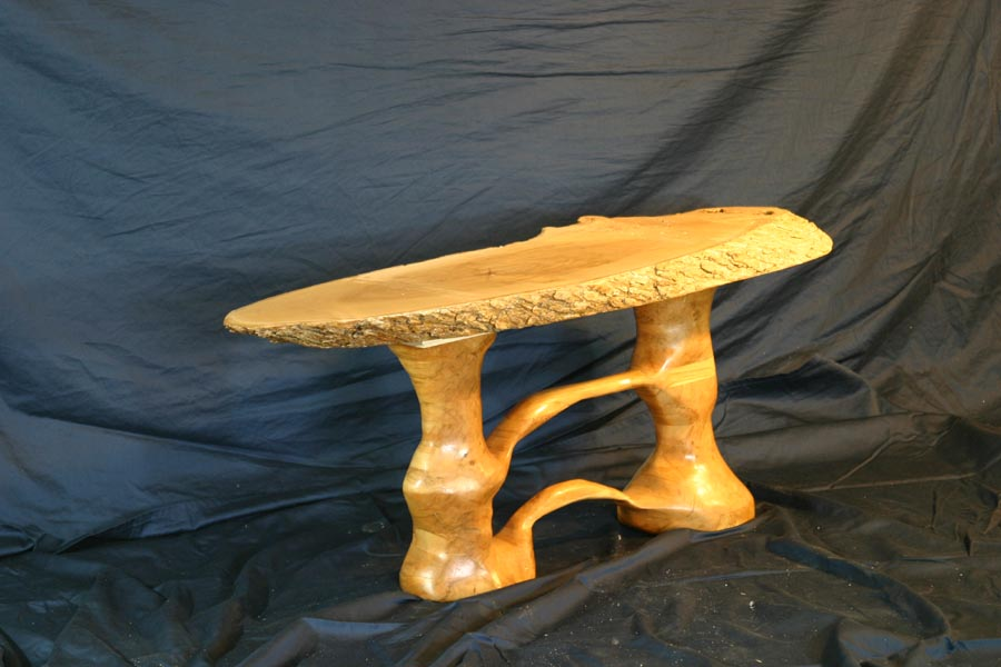 Laminated Maple Side Table